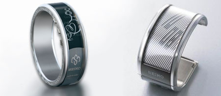 Seiko e-ink watches for her and for him
